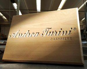 Targa in legno personalizzata - Legno Castagno